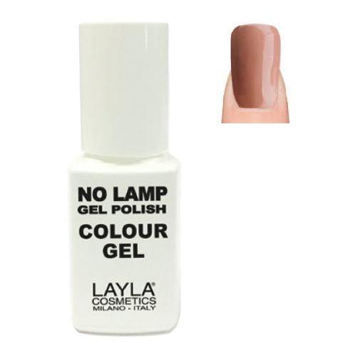 Layla No Lamp Gel Nail Polish Lazy Brown 004