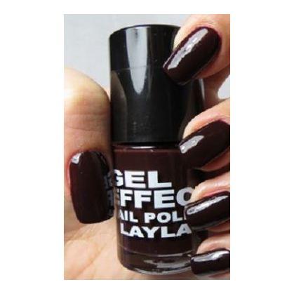 Layla Gel Effect Nail Polish Raisin 030