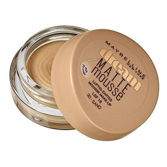 Maybelline Dream Matte Mousse 30 Sand Foundation