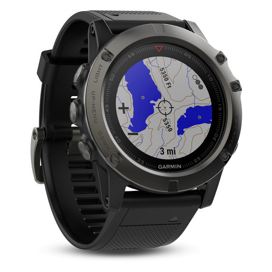 Garmin Fenix 5X Multisport Training Watch 51mm Slate Grey