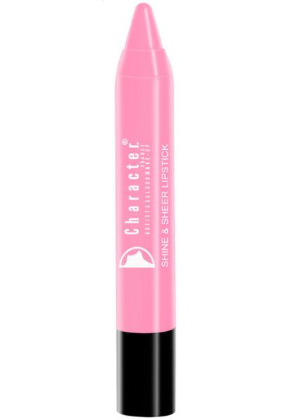 Character Shine & Sheer Lipstick Pink SSL001