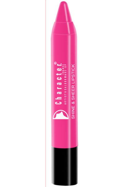 Character Shine & Sheer Lipstick Red SSL002
