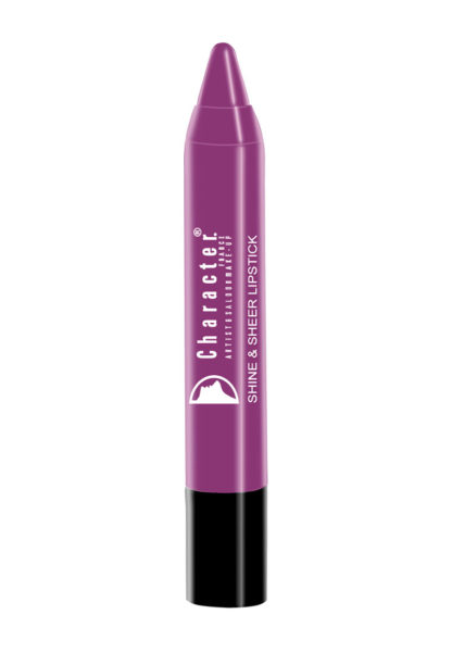 Character Shine & Sheer Lipstick Purple SSL022