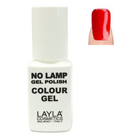 Layla No Lamp Gel Nail Polish Live Red 008