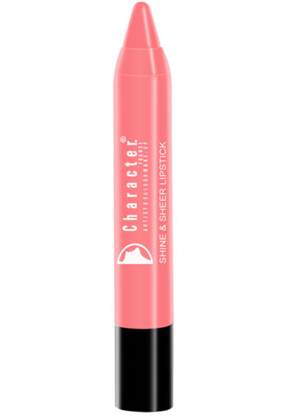 Character Shine & Sheer Lipstick Brown SSL004