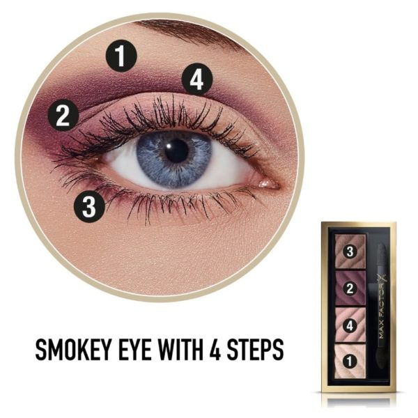 Max Factor Smokey Eyemat Drama kit - Rich Roses 20