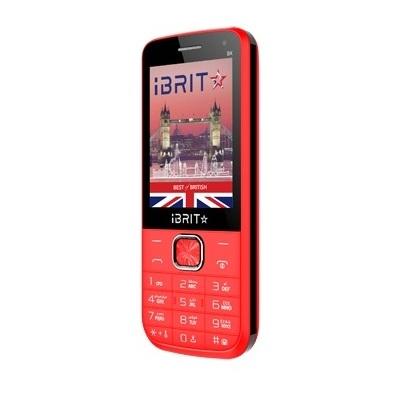 Ibrit BX Dual Sim Mobile Phone RED + Power Bank 5000mAh