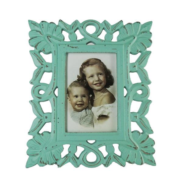 Rosso SDROSS11 Vintage Photo Frame Light Blue