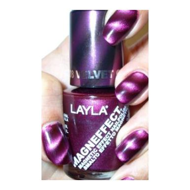 Layla Magneffect Nail Polish Velvet Groove 008