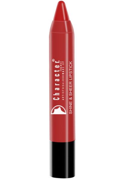Character Shine & Sheer Lipstick Brown SSL011