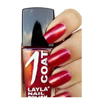 Layla 1 Coat Nail Polish Reflection Cherry 027