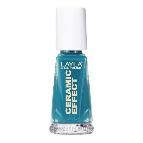 Layla Ceramic Effect Nail Polish Vintage Turquoise 025
