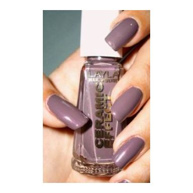 Layla Ceramic Effect Nail Polish Elegant Mud 012