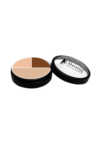 Character Ultra Foundation 3 Color Concealer Multicolor CUF003