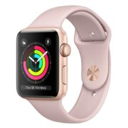 Apple Watch Series 3 GPS - 38mm Gold Aluminium Case with Pink Sand Sport Band