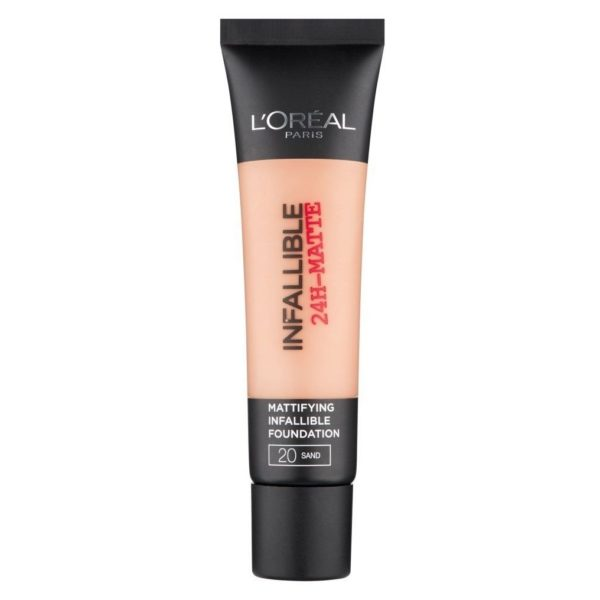 Loreal Infallible 24H Matte 20 Sand Foundation