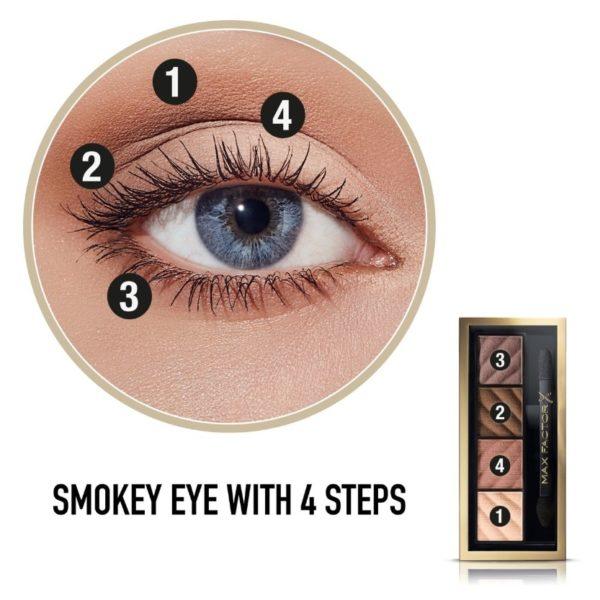 Max Factor Smokey Eye Matte Drama kit - Alluring Nude 10