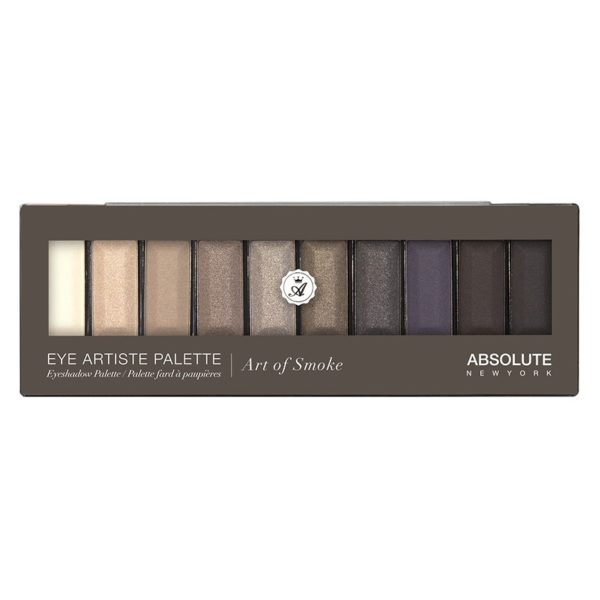 Absolute New York Eye Artist Palette Eyeshadow Smoke ABS0AEAP03