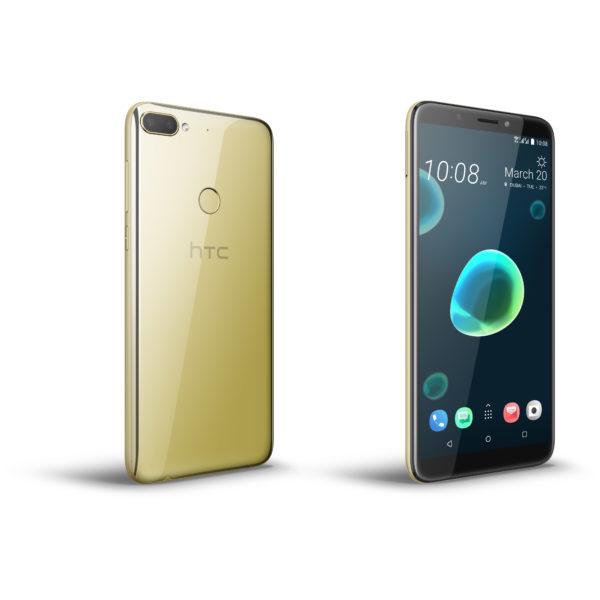 HTC Desire 12 Plus 4G Dual Sim Smartphone 32GB Royal Gold