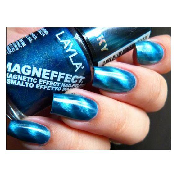 Layla Magneffect Nail Polish Metallic Sky 007