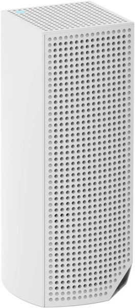 Linksys WHW0301-UK Velop Tri-Band AC2200 Whole Home Wi-Fi Mesh System, Router Replacement for Home Network - White, Pack of 1