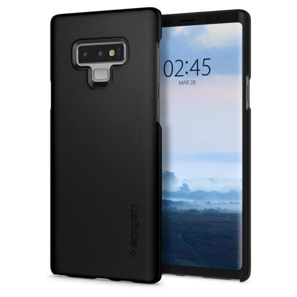 Spigen Thin Fit Case Black For Galaxy Note 9