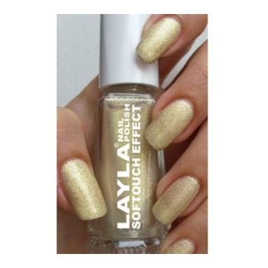 Layla Nail Polish Softouch Golden Touch 002