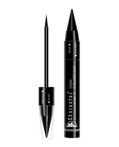 Character Kajal Eyeliner Duo Black C500