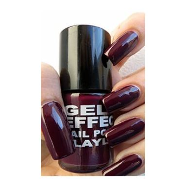 Layla Gel Effect Nail Polish Smooth Purple 012