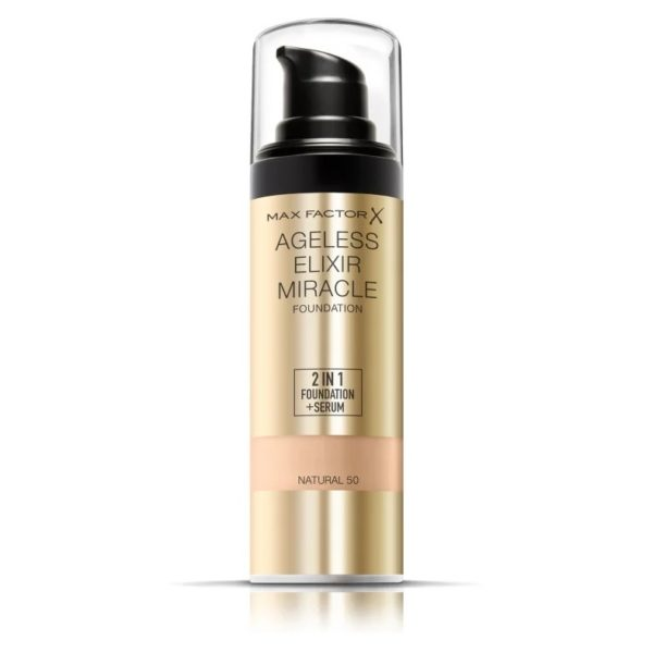 Max Factor Ageless Elixir Miracle Foundation Natural