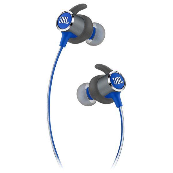 JBL Reflect Mini 2 Sweatproof Wireless Sport In-Ear Headphones Blue