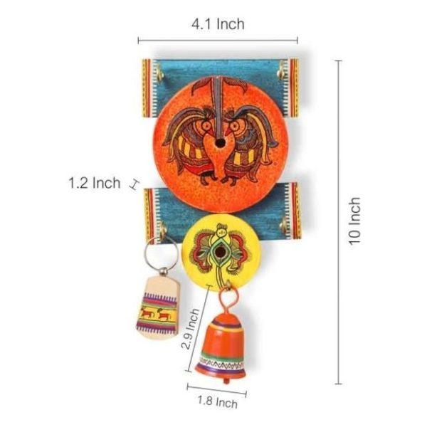 Moorni EL012052 Wooden Key Holder