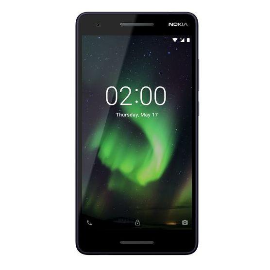 Nokia 2.1 8GB Blue Silver Dual Sim Smartphone TA1080