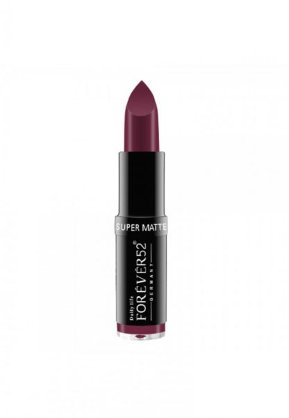 Forever52 Matte Long Lasting Lipstick Purple MLS032