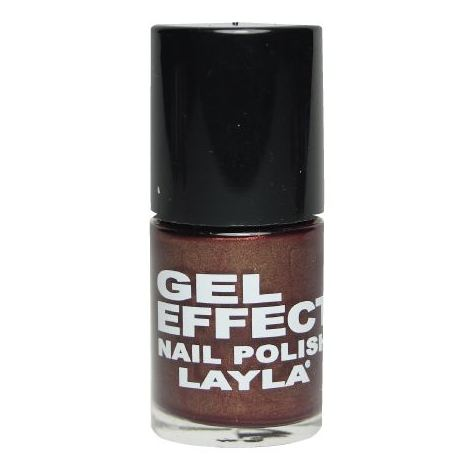 Layla Gel Effect Nail Polish Magenta Purple 029