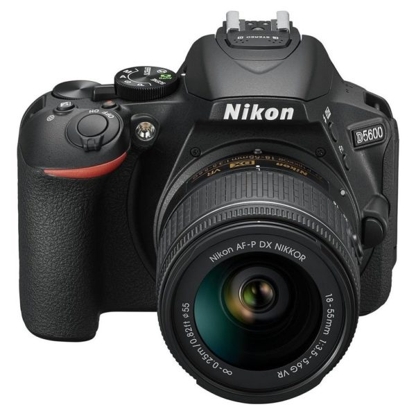 Nikon D5600 DSLR Camera Black With AF-P 18-55mm VR Lens + AF-P 70-300mm Lens