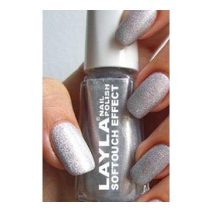 Layla Nail Polish Softouch Marshmallow Twinkle 001