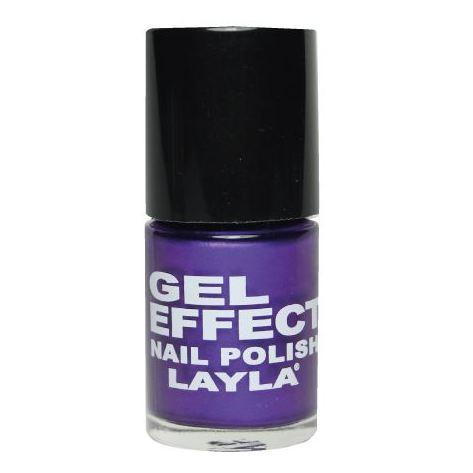Layla Gel Effect Nail Polish Blue Purple 025