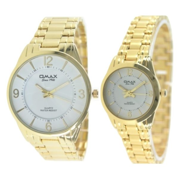 Omax CGH009Q003 CGH010Q003 Pair Watch