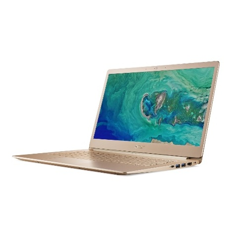 Acer Swift 5 SF514 Laptop - Core i7 1.8GHz 16GB 512GB Shared Win10 14inch FHD Gold
