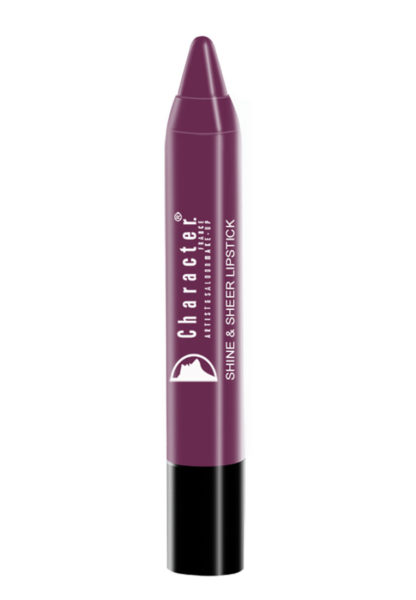 Character Shine & Sheer Lipstick Purple SSL021