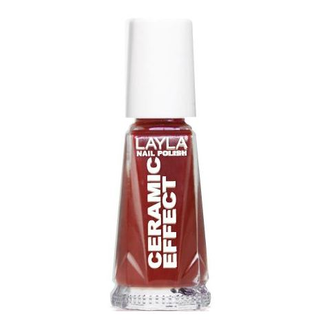 Layla Ceramic Effect Nail Polish Red Passion 007