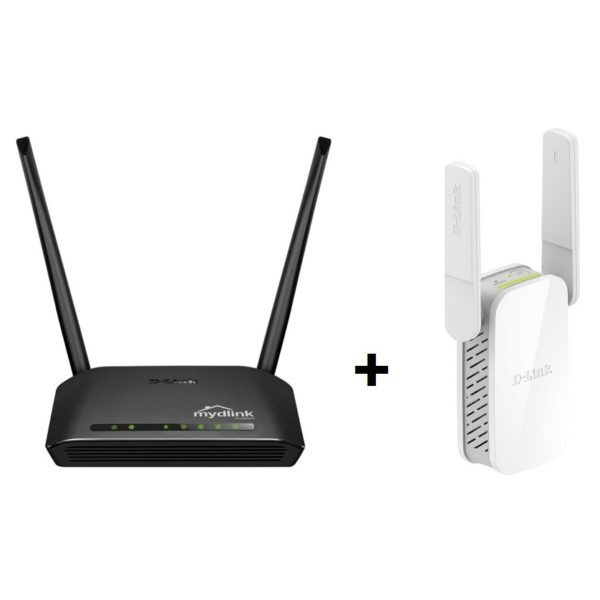 Dlink DIR816L Wireless AC750 Dual Band Cloud Router + DAP1530 AC750 Extender