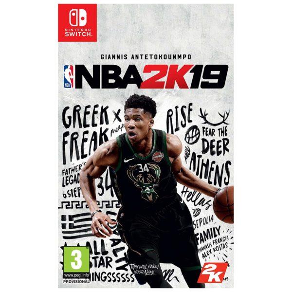 Nintendo Switch NBA 2K19 Game