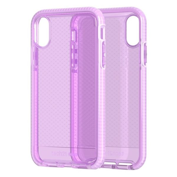 Tech21 Evo Check Case Orchid For iPhone Xs