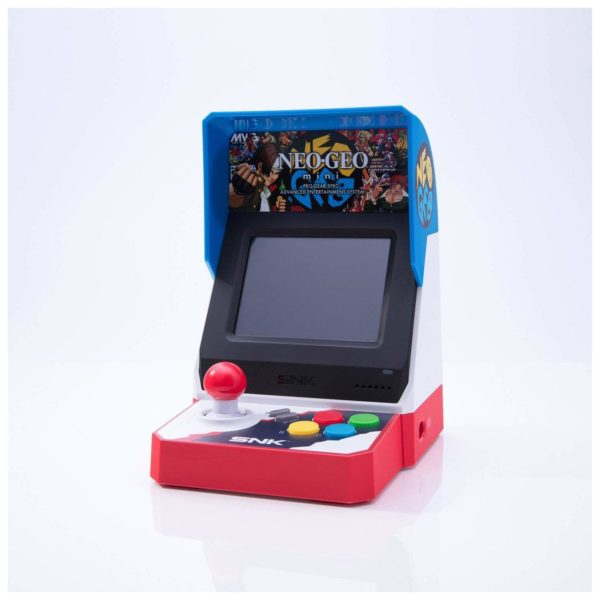 SNK NeoGeo Mini Portable Gaming Console With 40 In-built Games (ENG/JAP)