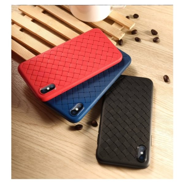 Benks Woven TPU Protective Case For iPhone XR - Black