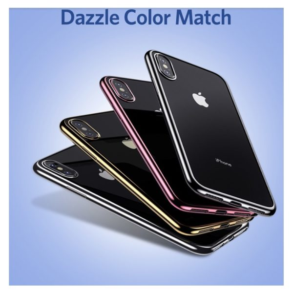 Benks Electroplating TPU Case For iPhone Xs - Black