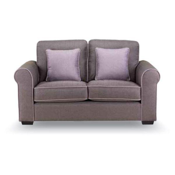 Royal Furniture CANON 2 Seater Sofa 164 x 90 x 90cm Purple