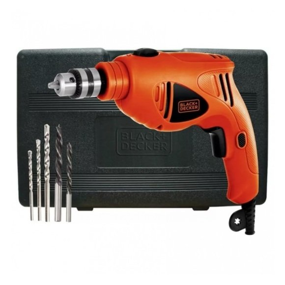 Black & Decker 500W Variable Speed Hammer Drill HD5010VA5-B5